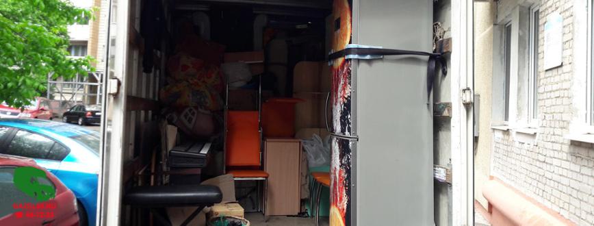 Перевозка мебели и техники
